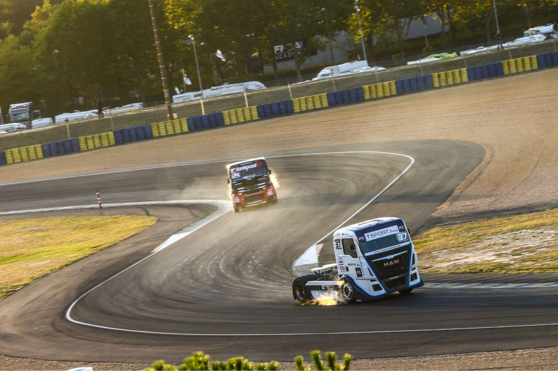 T Sport Racing achieves three podium positions at Le Mans at Truck Racing European Championship