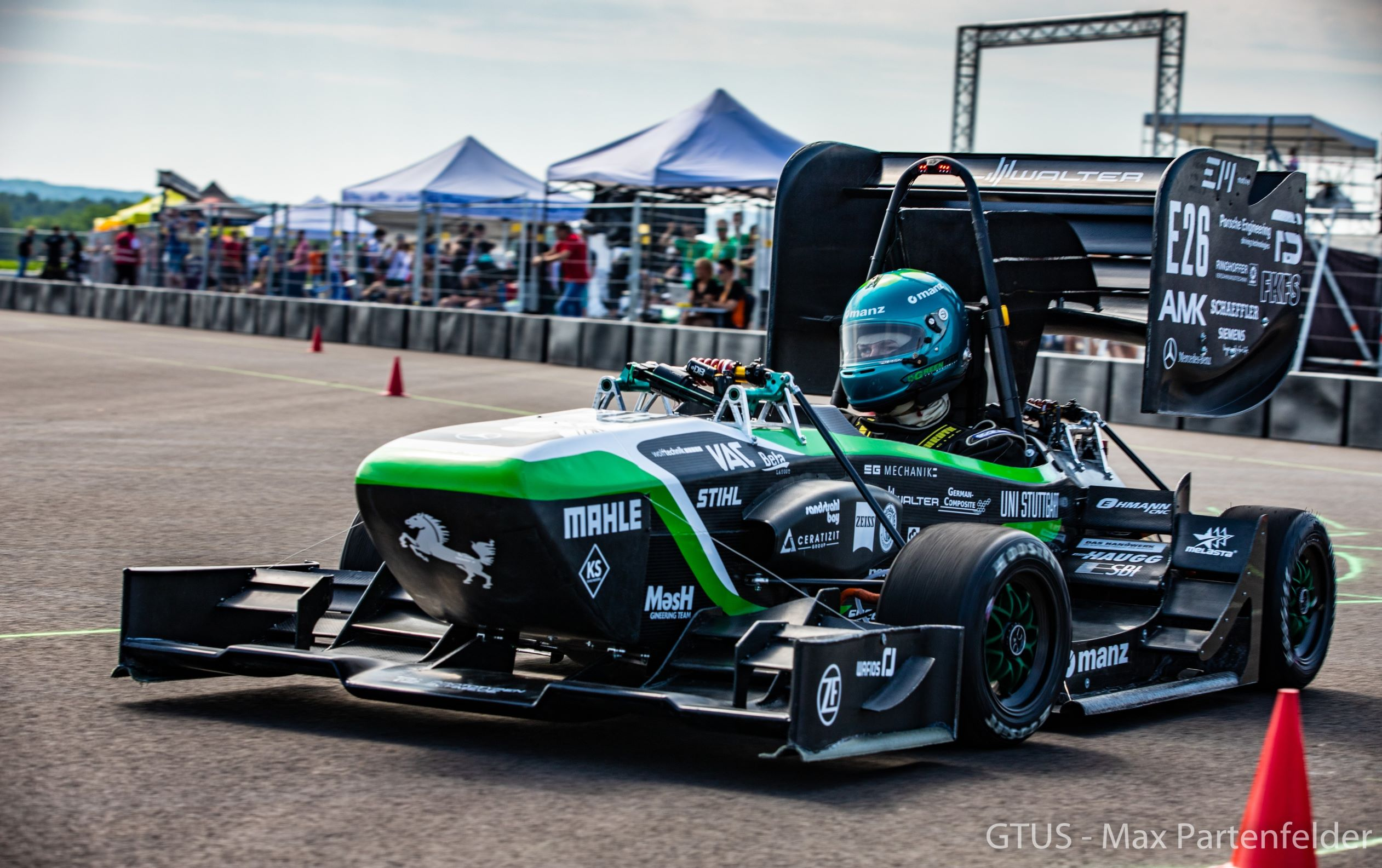 Sponsoring in E-Racing: GreenTeam Uni Stuttgart